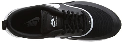 Nike Wmns Air Max Thea - Zapatillas Para Mujer Negro (Black/White 028)