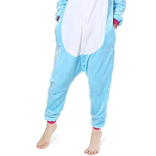 a3017e90dcf7 HITSAN Flannel Winter Anime Pajama Sets Cartoon Cosplay Sleepwear Adult  Unisex Cute Animal Hooded Pajamas Yellow