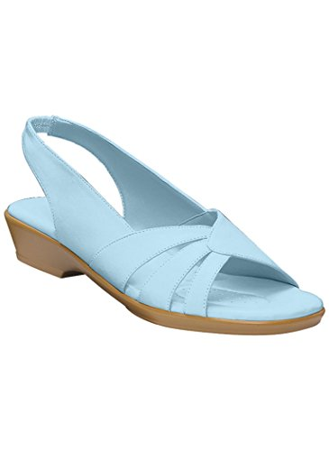 Womens Adult Sofwear By Beacon Melinda Synthetische Sandalen Een Aanvulling Op Exclusives Light Blue