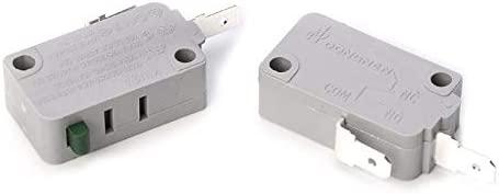 Ants-Store - 2 piezas KW3A Microinterruptor para puerta de ...