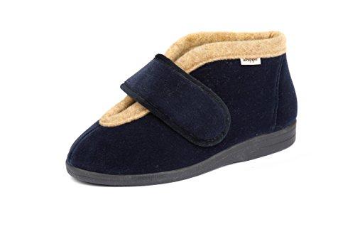 Sandpiper Material Por De Zapatillas Marino Estar Mujer Casa Para Sintético Azul rTqSrfXn7