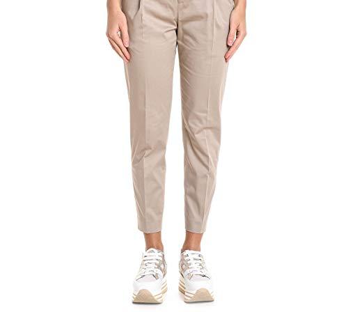 Coton Vschz00stdbp240100 Femme Pantalon Pt01 Beige tBfwpxq