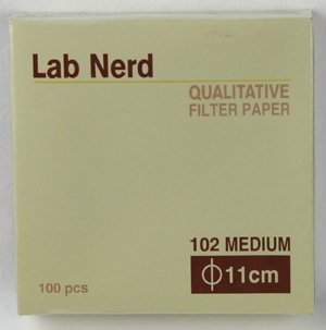 11 cm - 102 Qualitative Filter Paper