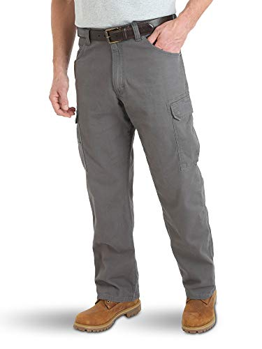 Wrangler Men's Riggs Workwear Lightweight Ranger Pant, Charcoal, 33x32