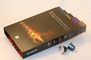 Nespresso Kazaar & Dharkan Intenso Batch Combo - ''NOT compatible with Vertuoline''