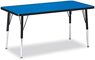 product image for Jonti-Craft Ridgeline Kydz Rectangular Activity Table (24 in. W x 48 in. D x 24 in. - 31 in. H. - Oak)