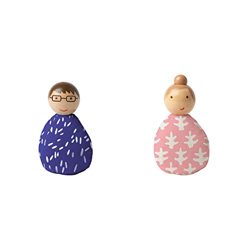 Wooden Bean People Doll Toys
