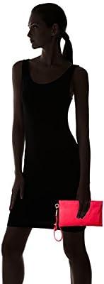 Skagen Leather Zip Pouch-Black