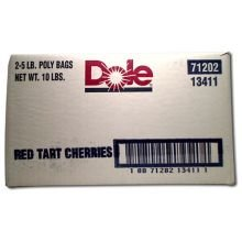 Dole Individual Quick Frozen Red Tart Cherry, 5 Pound -- 2 per case. (Tart Cherries Red)