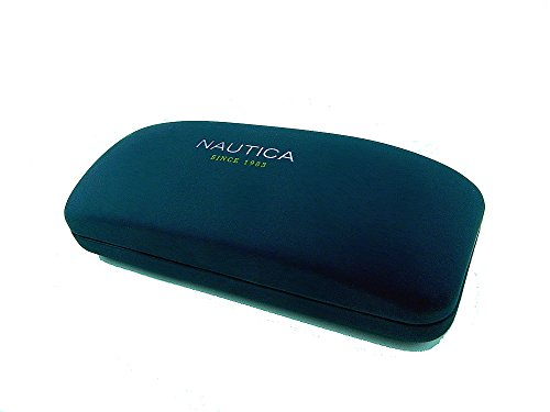 New Authentic Nautica Hard Clamshell Sunglass/Eyeglass Case - Navy Blue