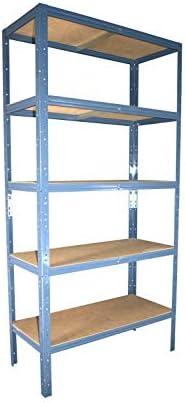 shelfplaza® HOME Steckregal 180x30x60cm Garage Hobby Lager Keller Werkstatt
