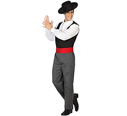 Atosa-31560 Disfraz hombre cordobés flamenco, XS-S (31560)