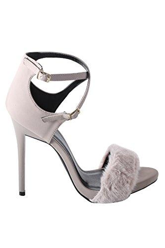 Sandalo Con Tacco Donna Hadari