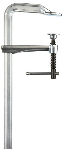 Bessey GZ40K Screw Clamp Gz-K 15.75In/4.72In, Silver by Bessey