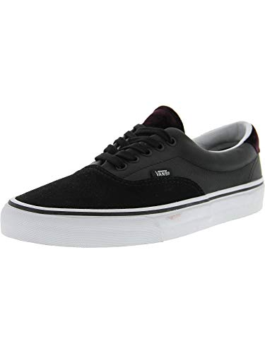2451a7f7d1a355 Vans Unisex Adults  Era 59 Low-Top Sneakers Black