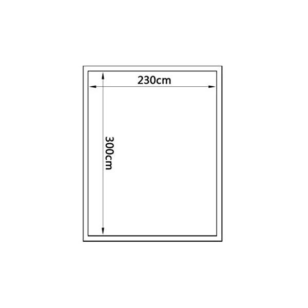 Tidyard Serra in Alluminio Rinforzato con Telaio di Base 7,55 m²,per Piante orto casetta Esterno 5 spesavip