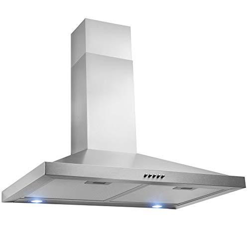 FIREBIRD 30'' Wall Mount Stainless Steel Push Panel Kitchen Range Hood Cooking Fan by Firebird