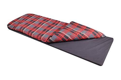 Disc-O-Bed Duvalay XLarge Lumberjack, Red-Black Pattern