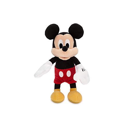 Disney Mickey Mouse Plush - Mini Bean Bag - 9 Inch Multi (Stuffed Small Animal Mickey)