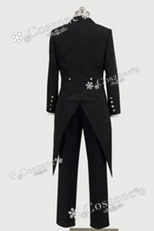 [Japan Cosplay] Black Butler 2 Sebastian Tailcoat Costume L/Womens