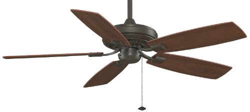 Fanimation Edgewood Decorative – 52 inch – Oil-Rubbed Bronze with Pull-Chain – TF610OB