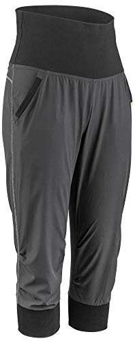 Louis Garneau Women's Urban Quick Dry, Stretch, Padded Cycling Knickers, Black, Large