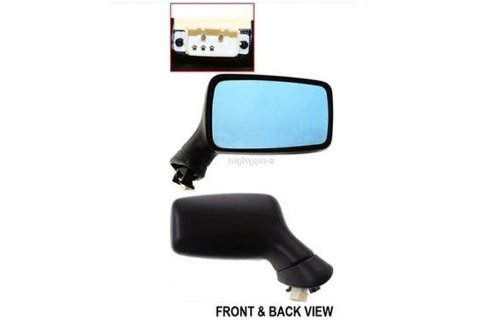 Audi Passenger Side Replacement Heated Power Side Mirror 91 90 89 Rh Car