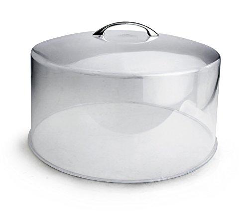 Dome Knobs Acrylic (Cuisinox DOM13 Transparent Cake Dome Cover, 30.5cm/12