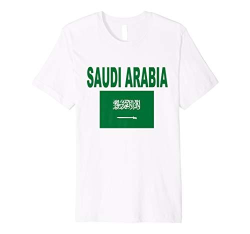 - Saudi Arabia Flag T-Shirt Cool Arabian Flags Gift Top Tee