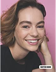Sketch Book: Brigette Lundy-Paine Sketchbook 130 Pages, Sketching, Drawing and Creative Doodling Notebook to Draw, Blank Diary and Journal Large 8.5 x 11 in (1.59 x 27.94 cm)