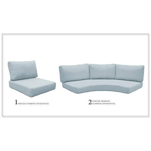 TK Classics High Back Cushion Set for FLORENCE-06i