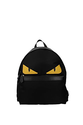 fendi-mens-monster-nylon-backpack-black