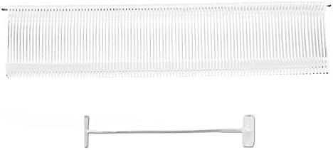 10.000 Kunststoff Fäden Fein 20 mm | Heftfäden | Heftpistole Etikettiermaschine | Anschießfäden | HUTNER