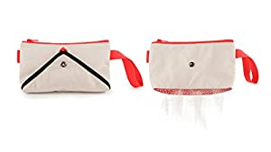 Quirky Shake Clutch Mesh-Bottom Beach Bag: Amazon.co.uk: Luggage