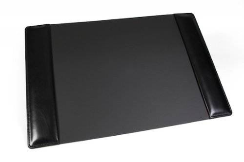 Bosca Old Leather Home Desk Pad (Black) by Bosca