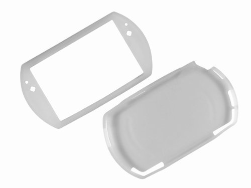 - New Clear White Silicone Skin Case Cover for Sony PSP Go