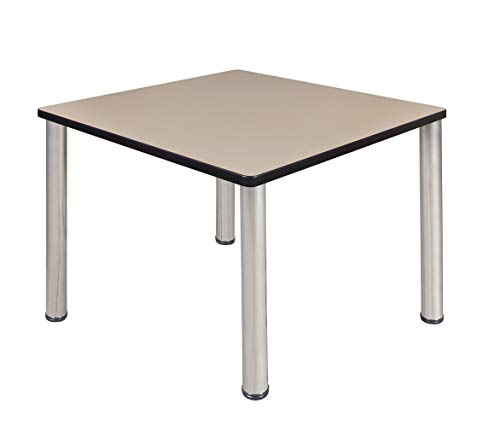 Regency A-TB4242IVBPCM Kitt Square Breakroom Table, for sale  Delivered anywhere in USA
