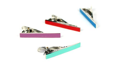 Jetset Tie Clip Collection