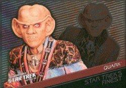 (Quotable Star Trek Deep Space Nine Starfleets Finest F8 Chase Card #342)