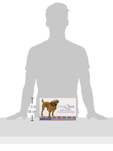 Clear-Quest-Bone-Shaped-Waste-Bag-Holder-for-Dogs-and-Cats-Display-Winter