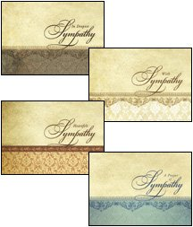 Card - Boxed - Sympathy - Heartfelt Sympathyathy (Box Of 12)