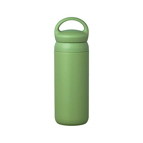 Day Off Tumbler 500ml (17oz) φ74xH226mm Green - Vacuum Insulated, Which Keeps Your Favorite Beverage Hot Or Cold For Hours Perfect For Carrying Around On Walks Or Day Trips