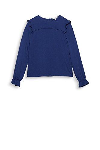 Esprit Blouse 400 097ee1f007 Navy Bleu Femme qFAnq8