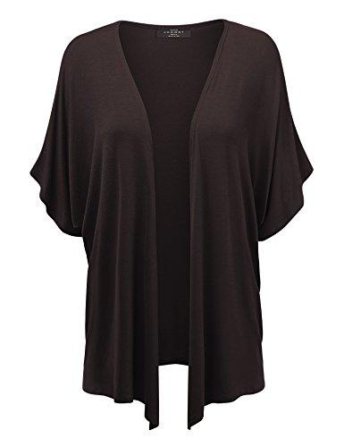 Womens Short Sleeve Kimono Cardigan product image