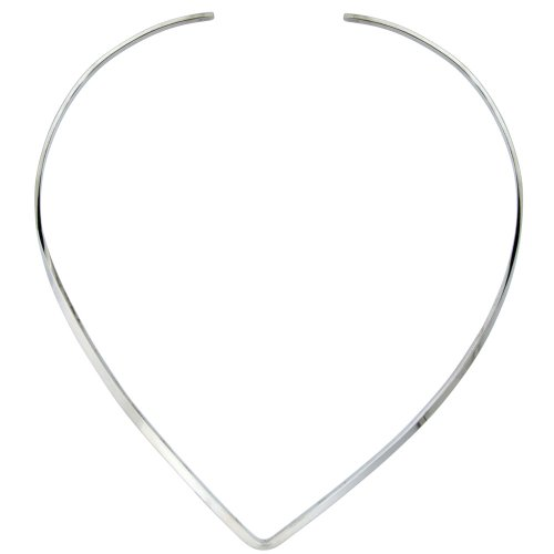 Sterling Silver Choker Necklace Handmade