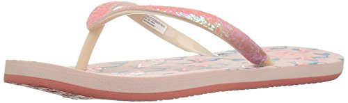- Reef Girls Stargazer Prints Flip-Flop, Mermaid, 910 Child US Little Kid