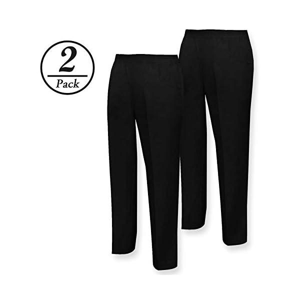 MISEMIYA Pantalón Sanitarios Unisex Trabajo (Pack de 2) para Hombre 2