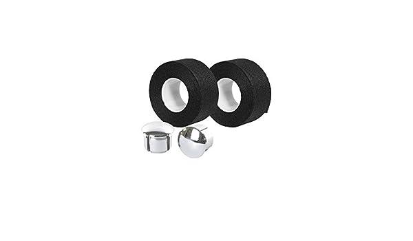 Motodak Cinta de Manillar Velox Trenzado 90 algodón Negro 20 mm x ...