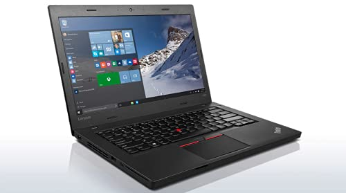 (Renewed) Lenovo ThinkPad L460 14inch Laptop (Core i5 6th Gen/4 GB (Upgradable to 16)/180 GB SSD/Windows 10/MS Office Pro 2019/Integrated Graphics/Business Laptop), Black