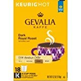 Gevalia Dark Royal Roast Coffee K-Cup Pods 18 ct Box